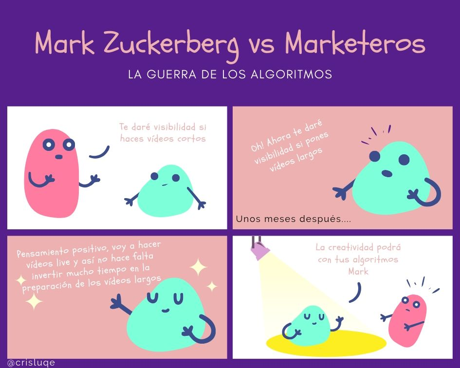 Mark Zuckerberg vs Marketeros