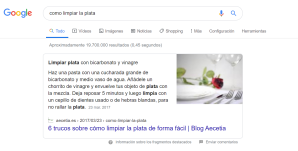 featured snippet seo aecetia